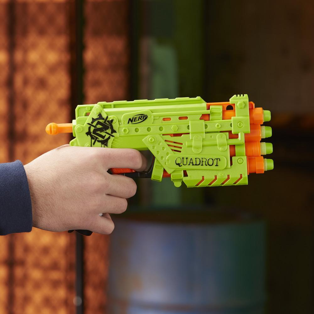 Lanzador Nerf Zombie Strike Quadrot