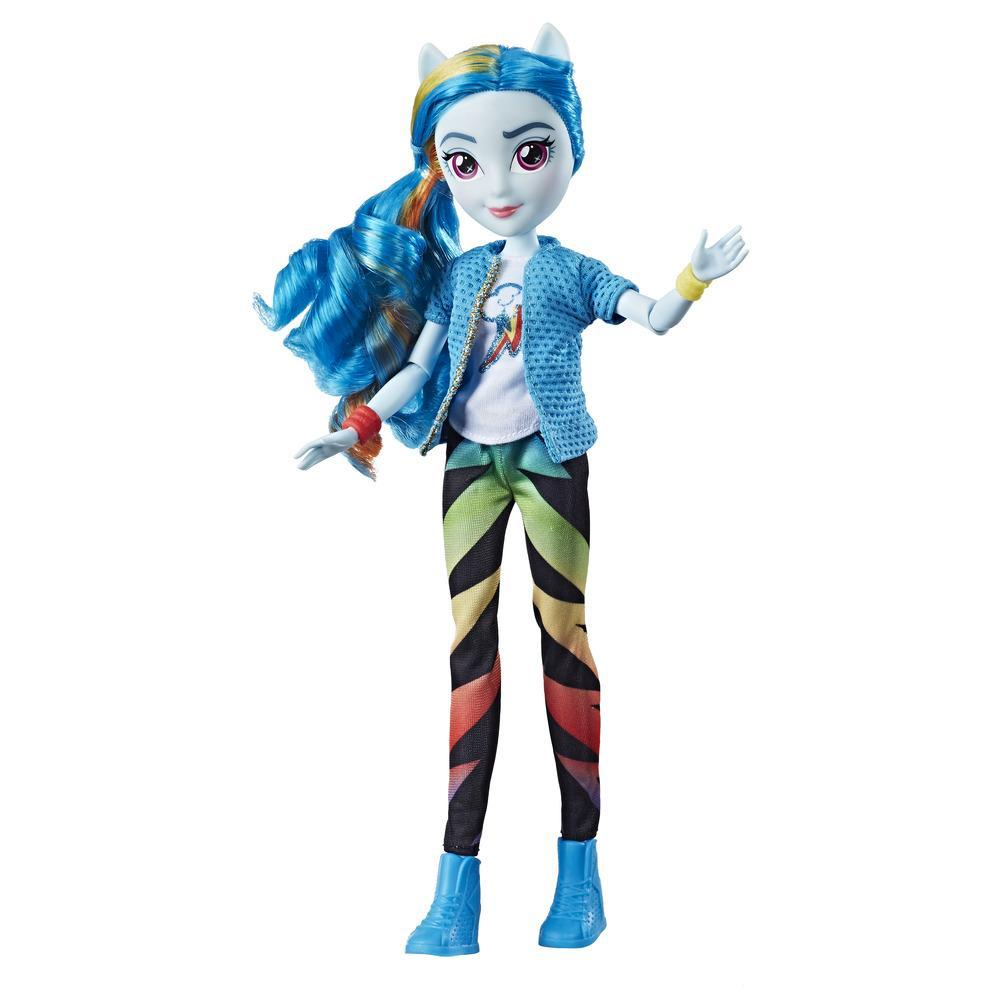 My Little Pony Equestria Girls Rainbow Dash - Muñeca estilo clásico