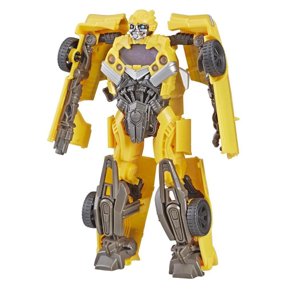 Transformers: Bumblebee - Bumblebee Visión de misión - Figura de acción - Juguete inspirado en la película
