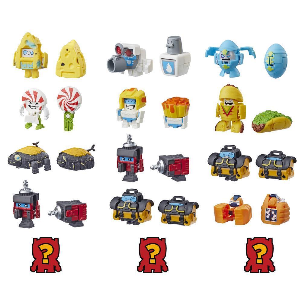 Transformers Toys BotBots Serie 2 - Empaque de 5 figuras Shed Heads - ¡Figuras coleccionables! Para niños de 5 años en adelante (los estilos y colores pueden variar) de Hasbro.