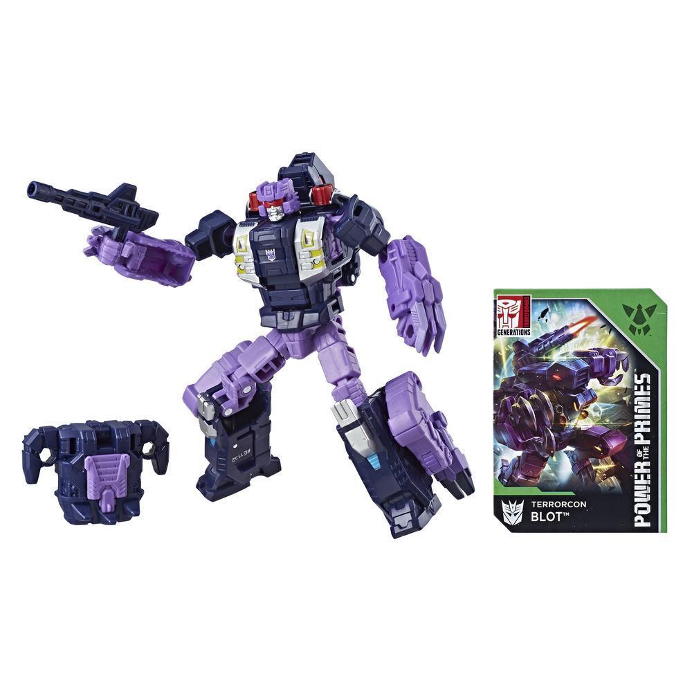 Transformers Generations Poder de los Primes - Terrorcon Blot clase de lujo