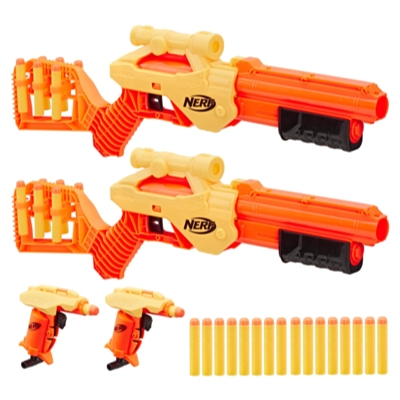 Lynx SD-1 y Stinger SD-1 Multipack. Set Nerf Alpha Strike de 30 piezas