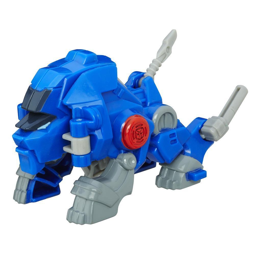 Playskool Heroes Transformers Rescue Bots - Valor el robot león
