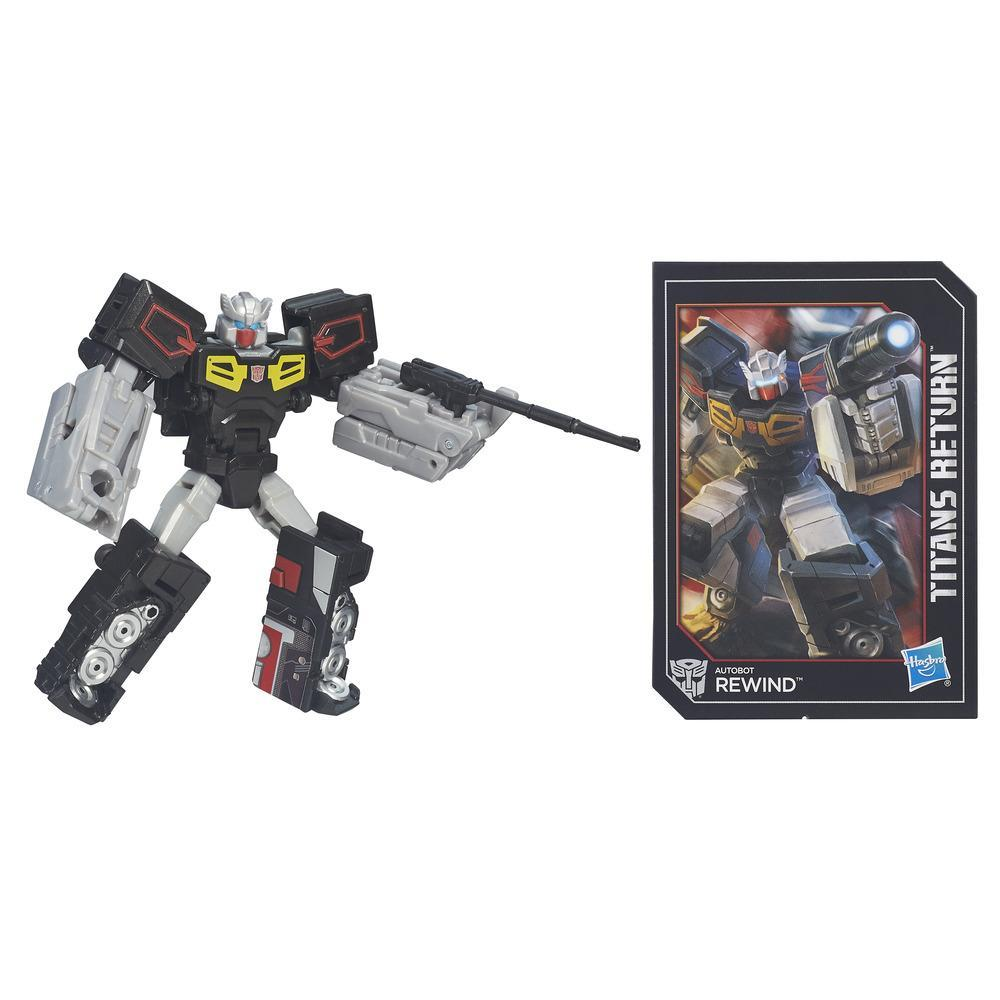 Transformers Generations Titans Return - Autobot Rewind clase leyendas