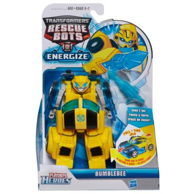 TRANSFORMERS RESCUE BOTS - FIGURA TRANSFORMABLE BUMBLEBEE