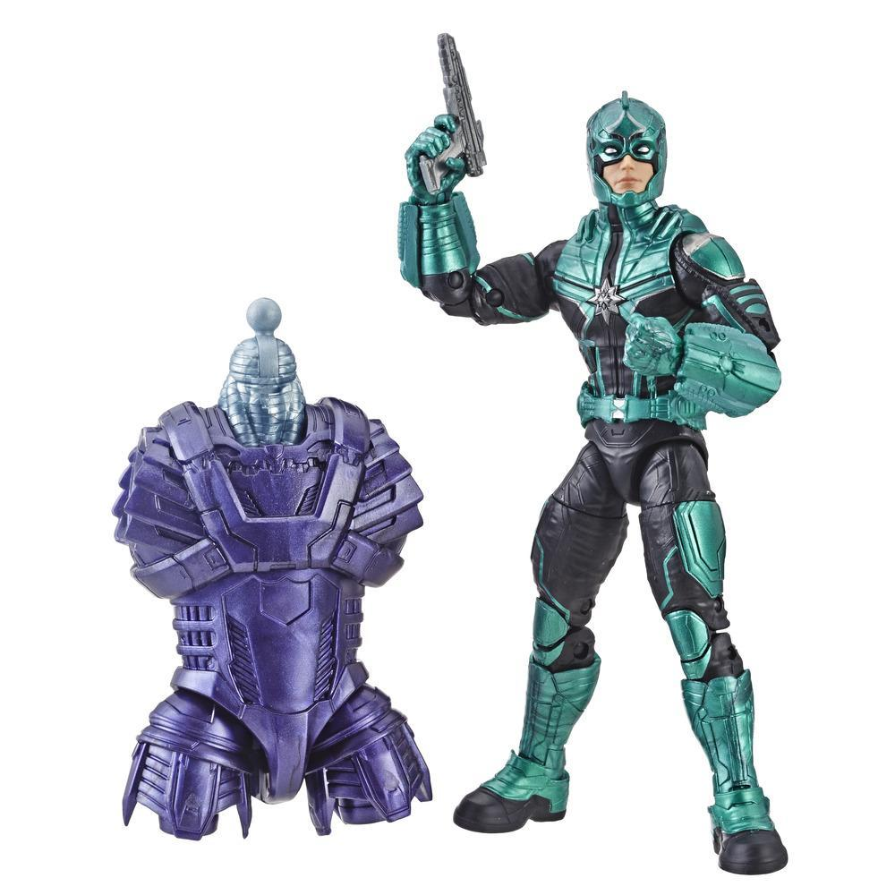 Marvel Captain Marvel - Figura Legends del kree Yon-Rogg para coleccionistas, chicos y fans