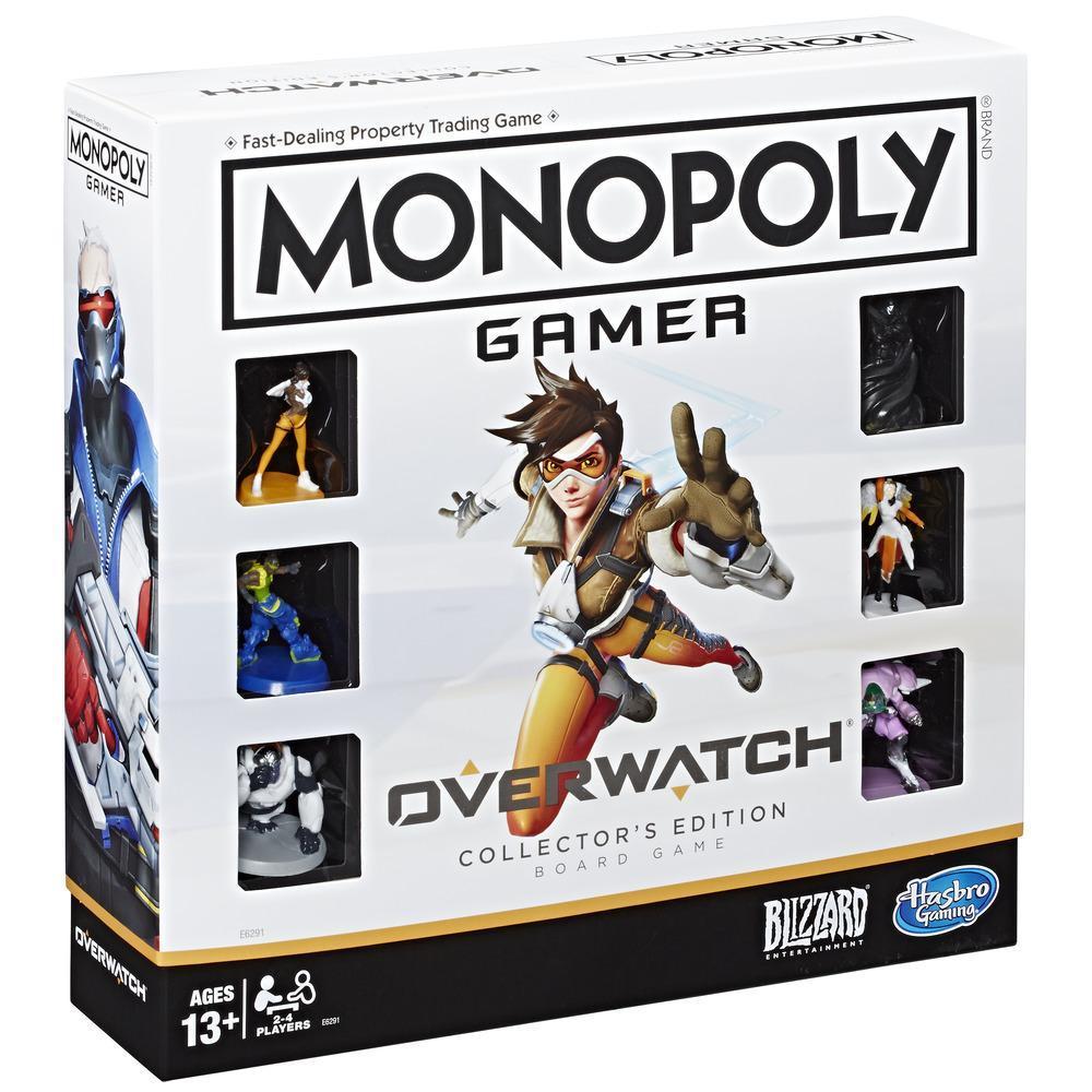 Monopoly Gamer Overwatch - Juego de mesa edición de colección