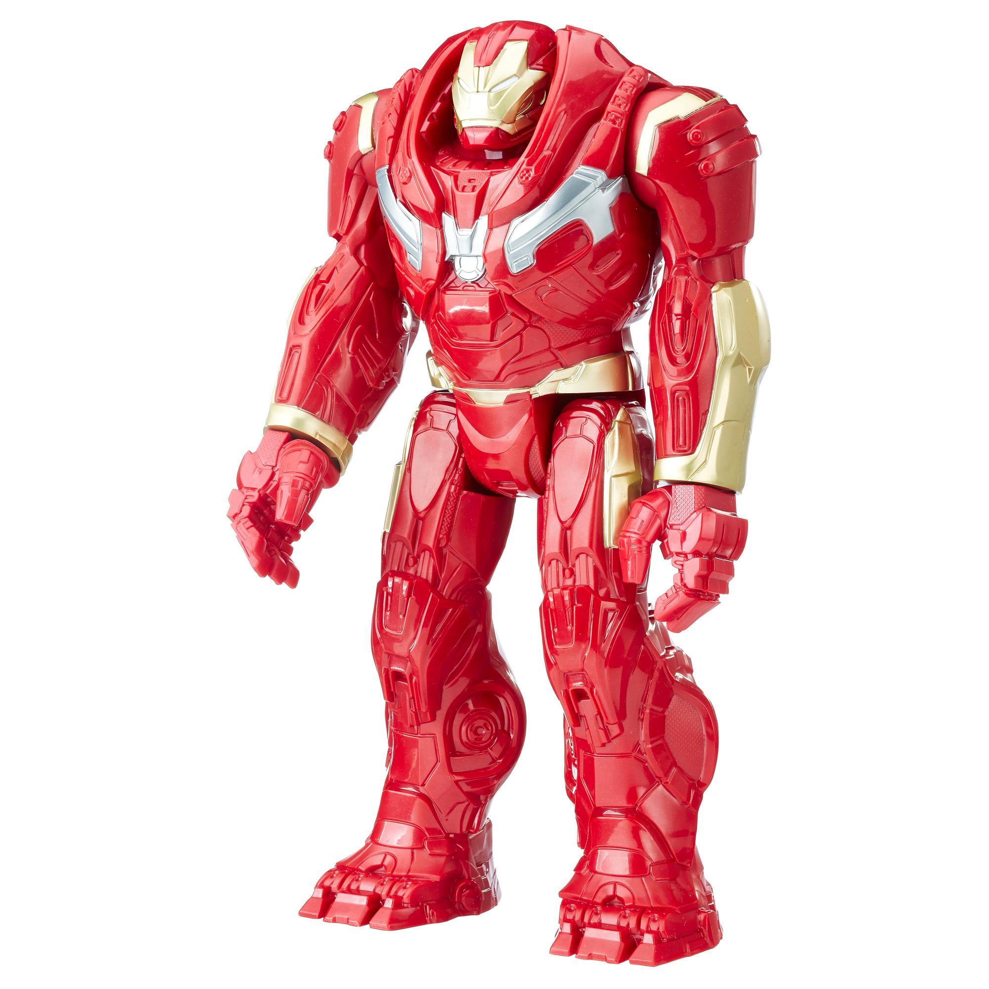 Marvel Infinity War Titan Hero Series - Hulkbuster con puerto para Titan Hero Power FX