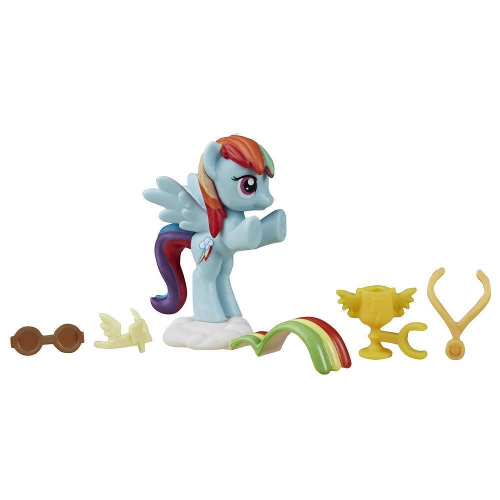 My Little Pony La magia de la amistad - Rainbow Dash corredora