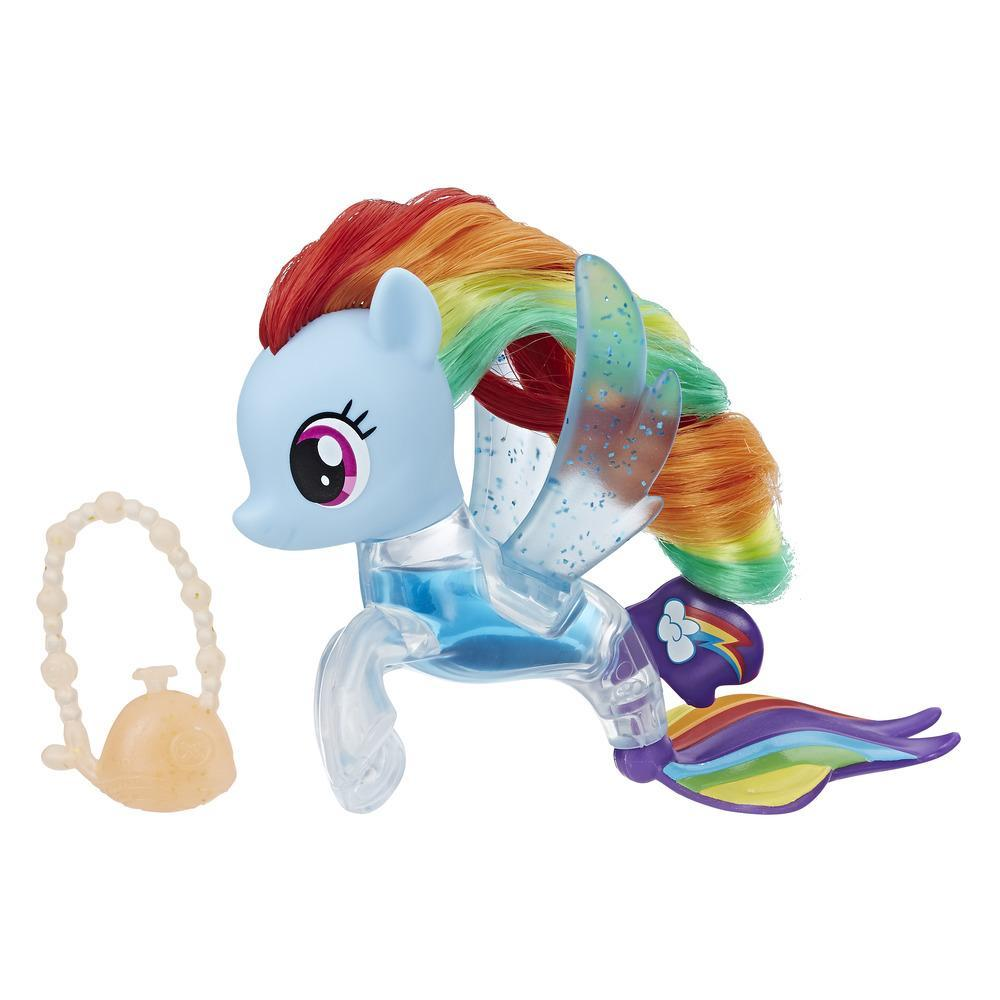 My Little Pony: The Movie - Figura Pony de mar Cola mágica de Rainbow Dash