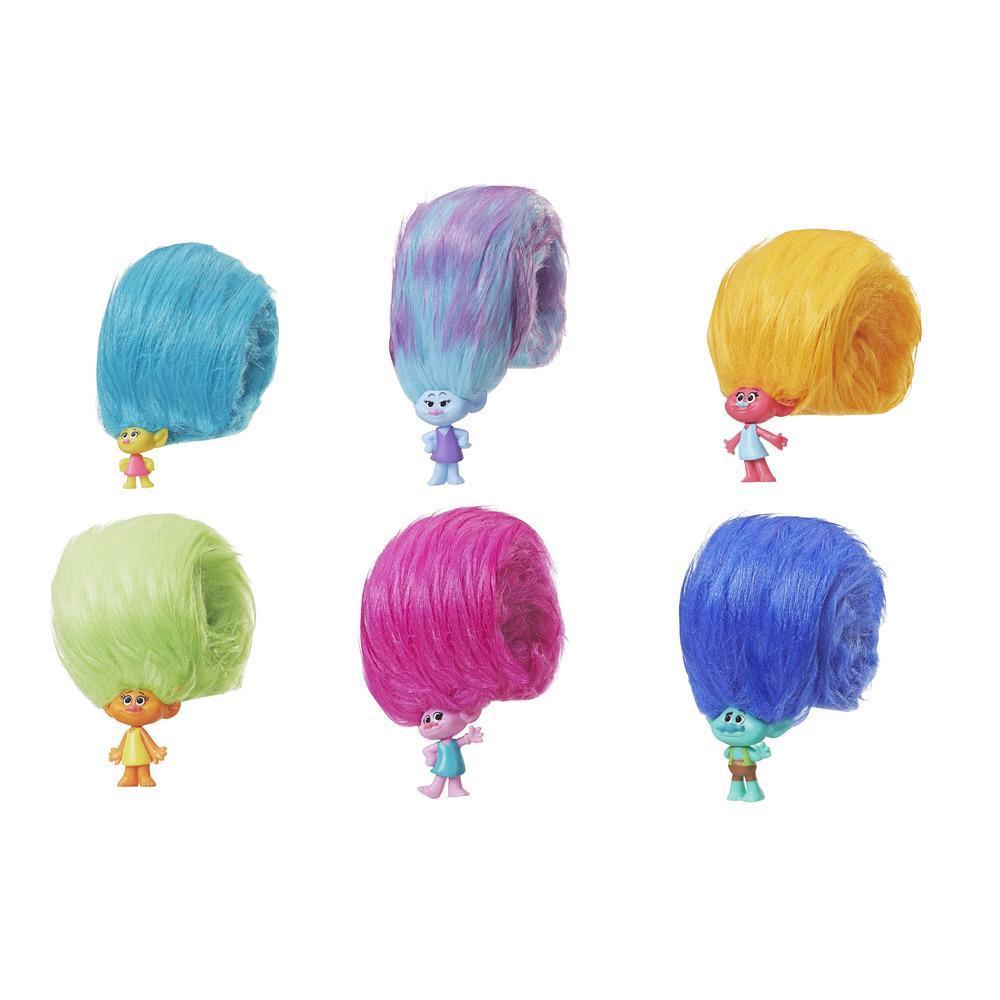 DreamWorks Trolls - Serie 1 Hair Huggers