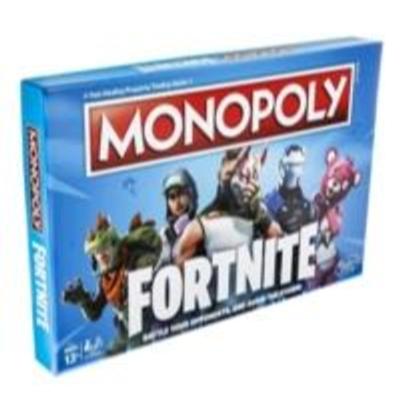 Monopoly Fortnite - Juego de mesa basado en el videojuego Fortnite