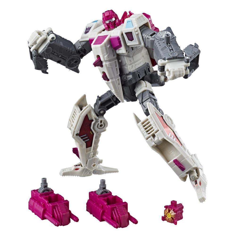 Transformers Generations Poder de los Primes - Terrorcon Hun-Gurrr clase viajero