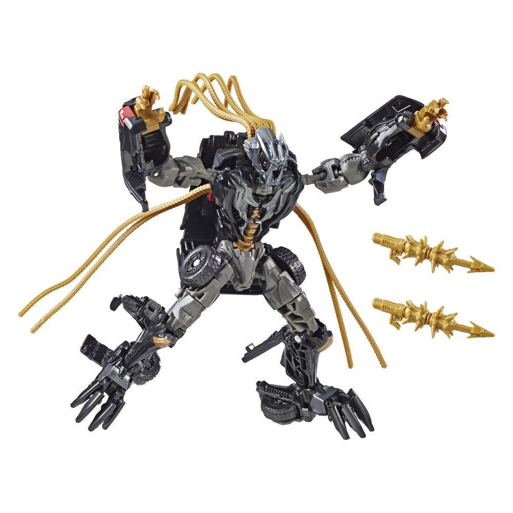 Transformers Estudio Series 30 - Figura de acción de Crankcase clase de lujo de Transformers: El lado oscuro de la luna