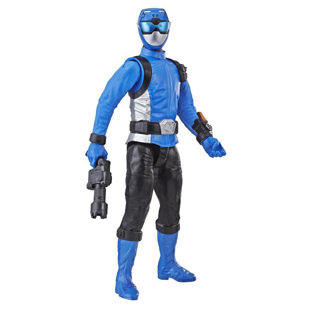 Power Rangers Beast Morphers - Figura de acción de juguete de 30 cm de Blue Ranger