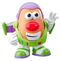 Mr. Potato Head Disney/Pixar - Figura de Spud Lightyear de Toy Story 4