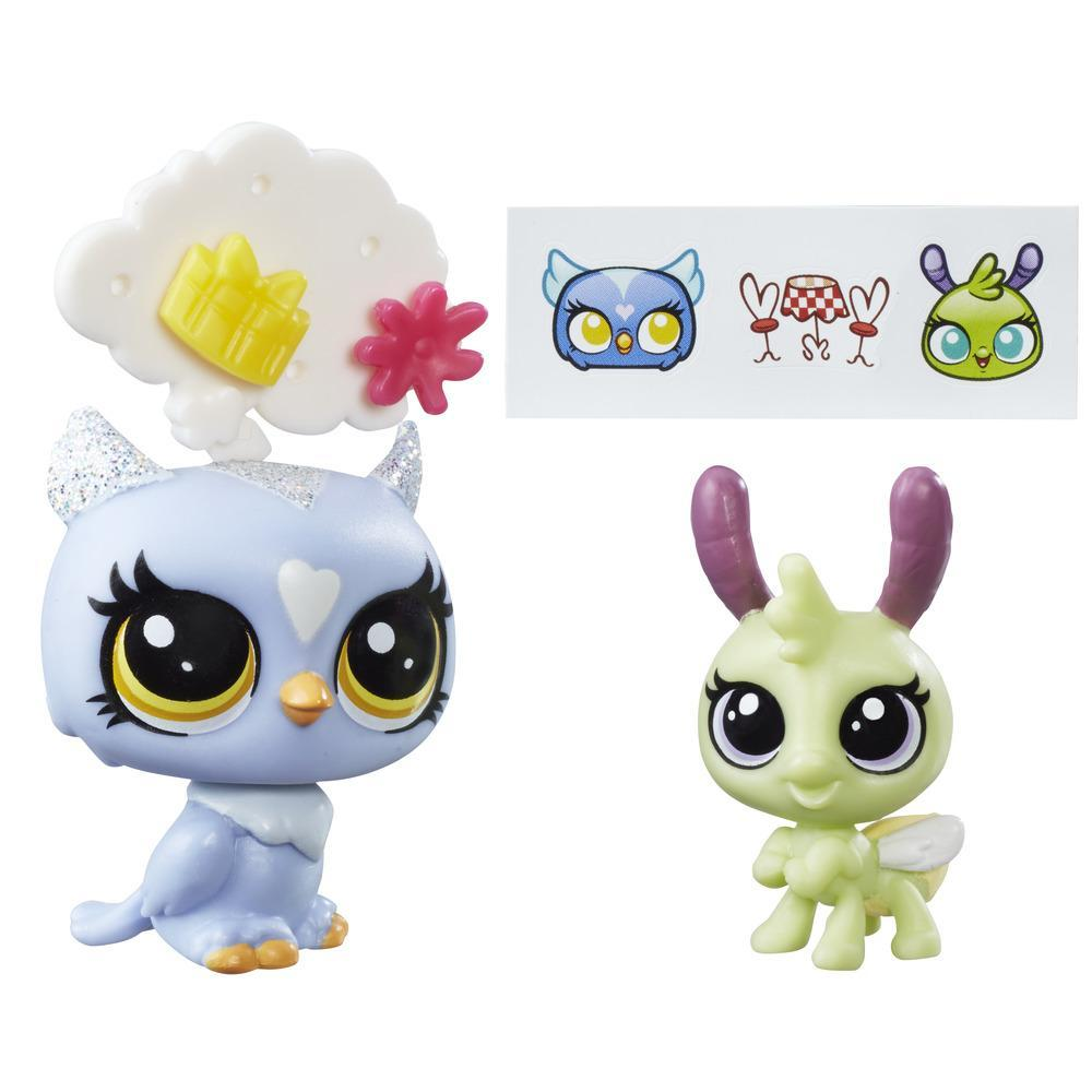 Littlest Pet Shop Eona Eventide and Elvin Lamplight