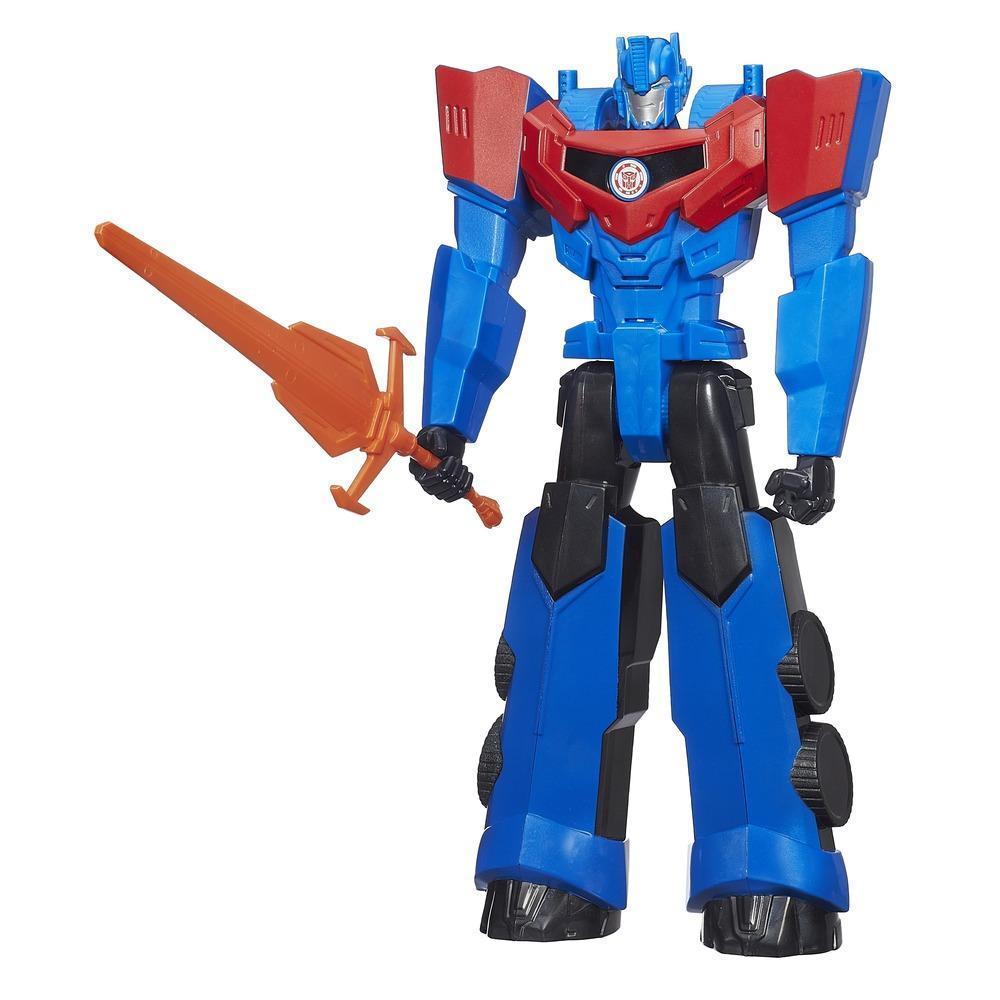 Figura electrónica Transformers Robots in Disguise de 30 cm de Optimus Prime Titan Heroes