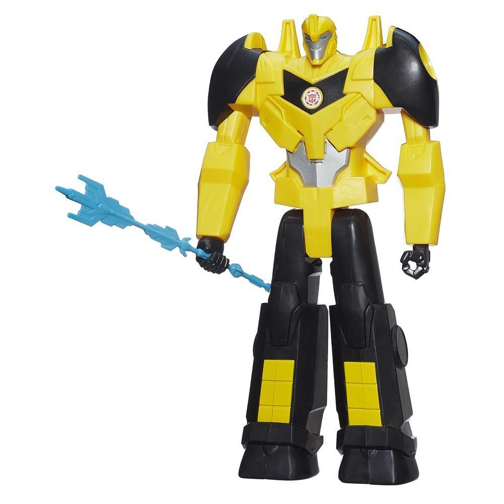 Figura electrónica Transformers Robots in Disguise de 30 cm de Bumblebee Titan Heroes