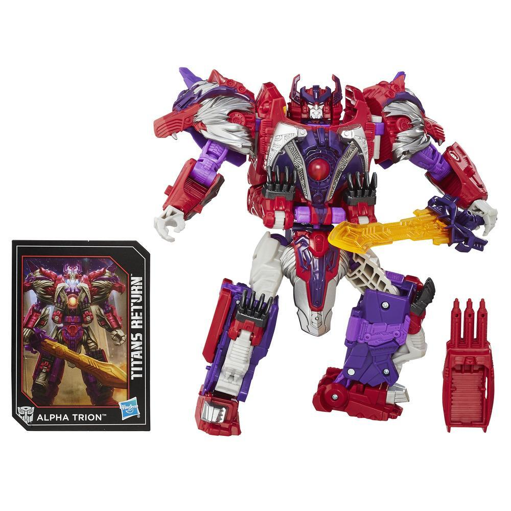 Transformers Generations Titans Return - Autobot Sovereign y Alpha Trion