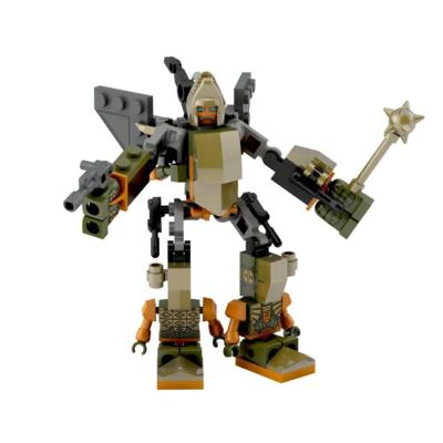 Juego de construcción de Grimstone de Micro-Changers Combiners de la Era de la Extinción de Transformers KRE-O