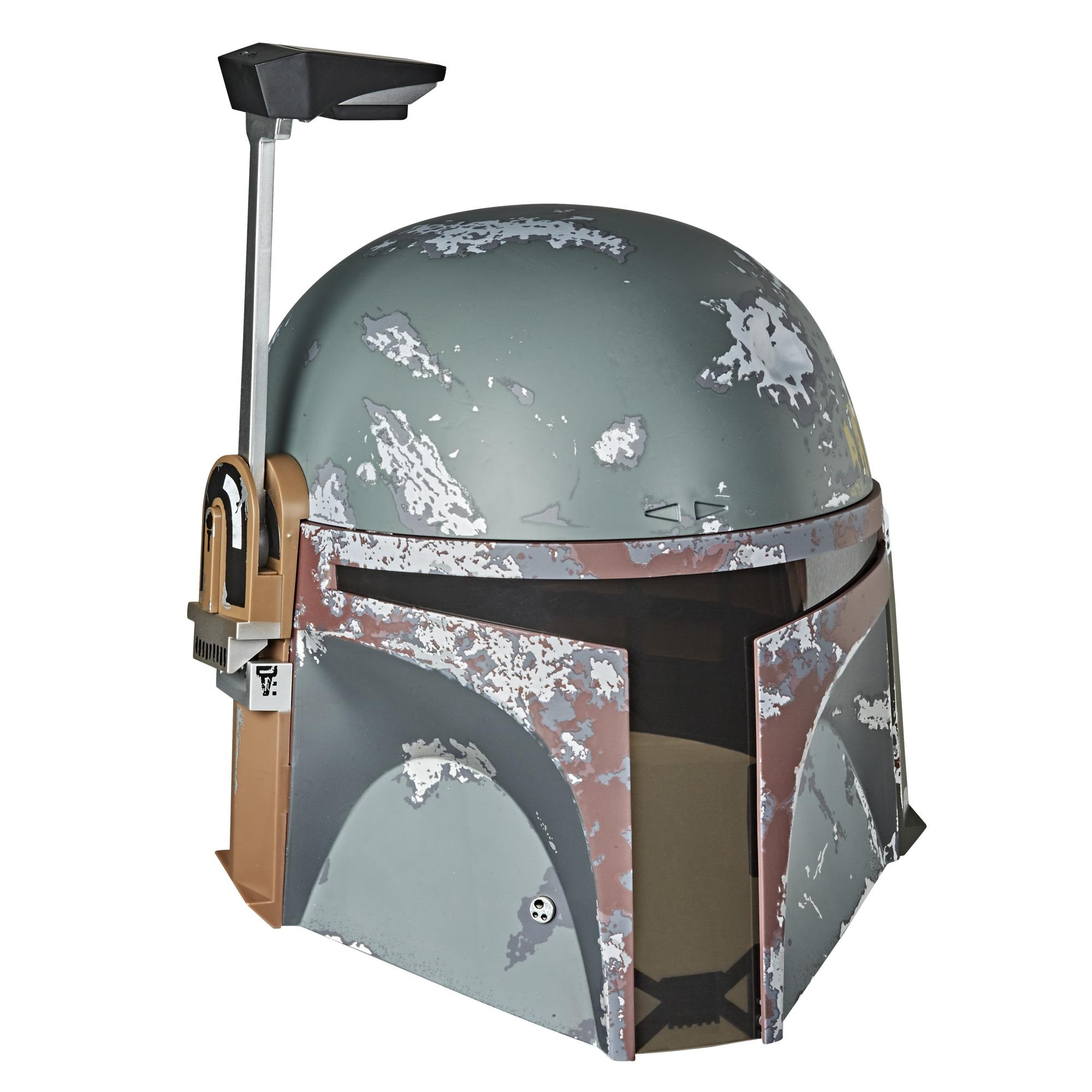 Casco electrónico premium de Boba Fett de Star Wars The Black Series, casco para roleplay de Star Wars: El Imperio contraataca