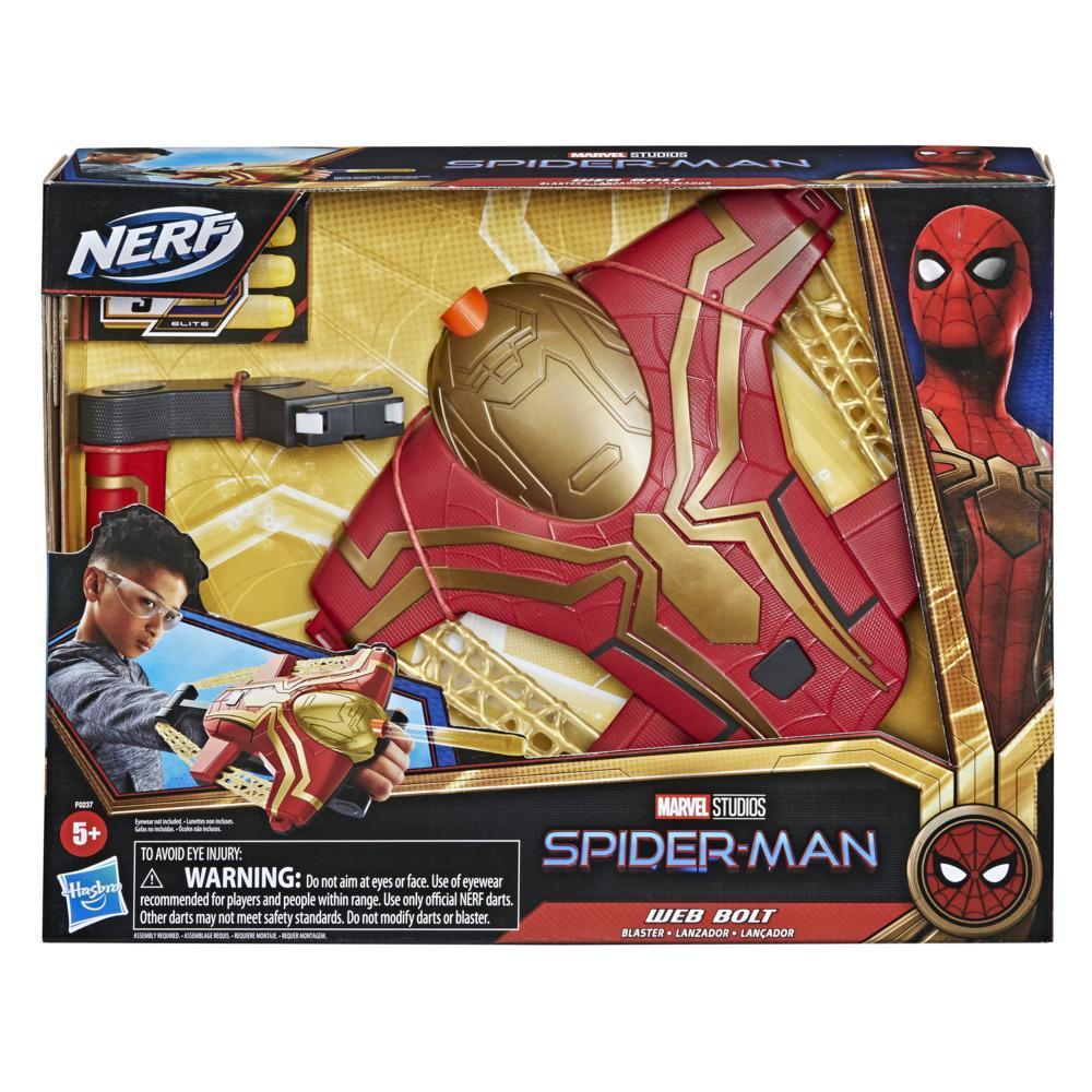 Lanzador Web Bolt de Marvel Spider-Man
