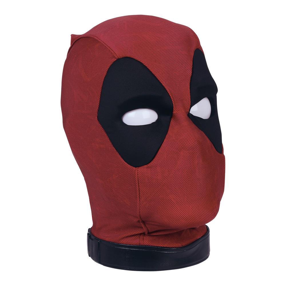 Cabeza interactiva premium de la cabeza de Deadpool de Marvel Legends