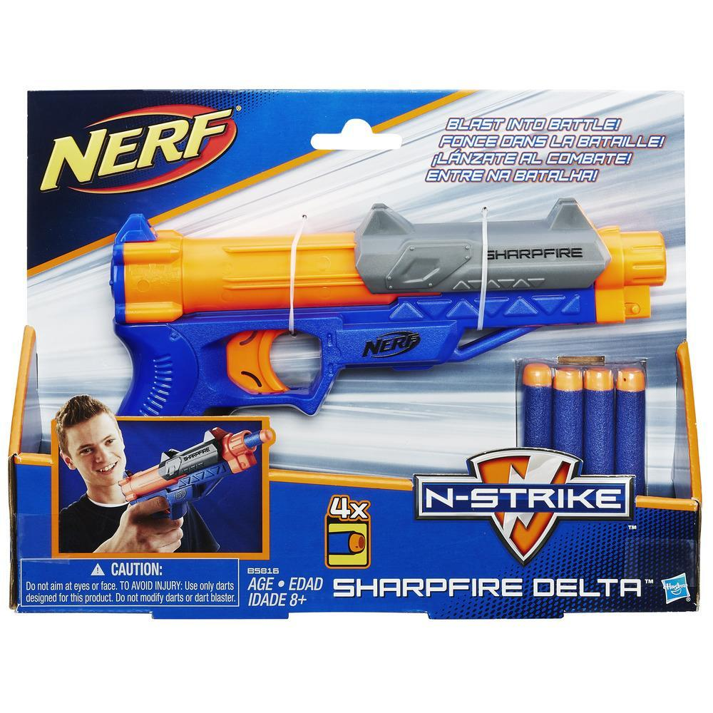 NERF ELITE SHARPFIRE DELTA