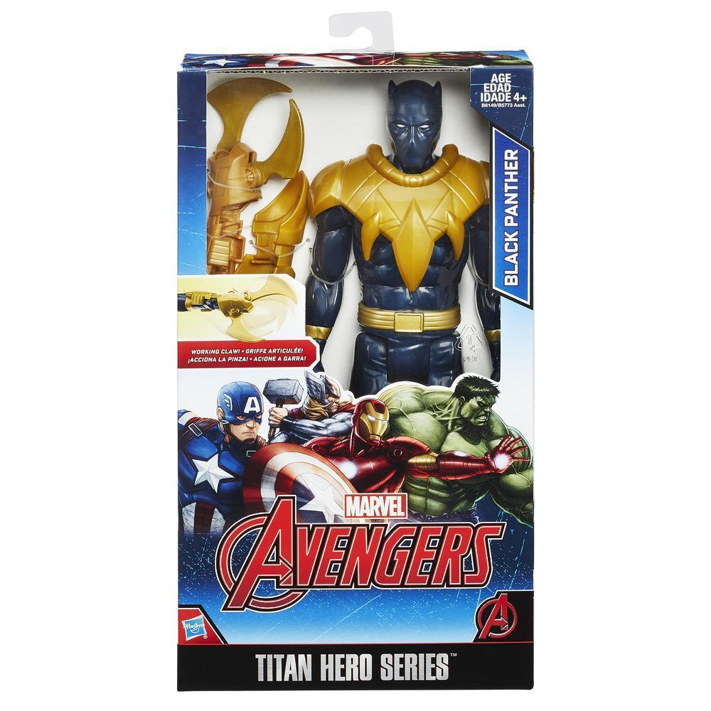 Avengers  Black Panther Titan Hero & Gear Eu Solid