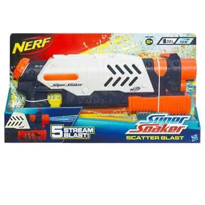 NERF - SUPER SOAKER Scatter Blast