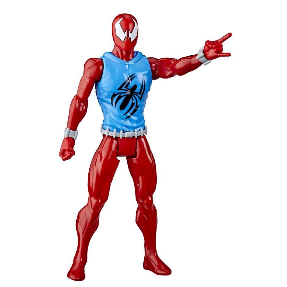 Scarlet Spider de Marvel de Guerreros arácnidos Spider-Man: Titan Hero Series Blast Gear
