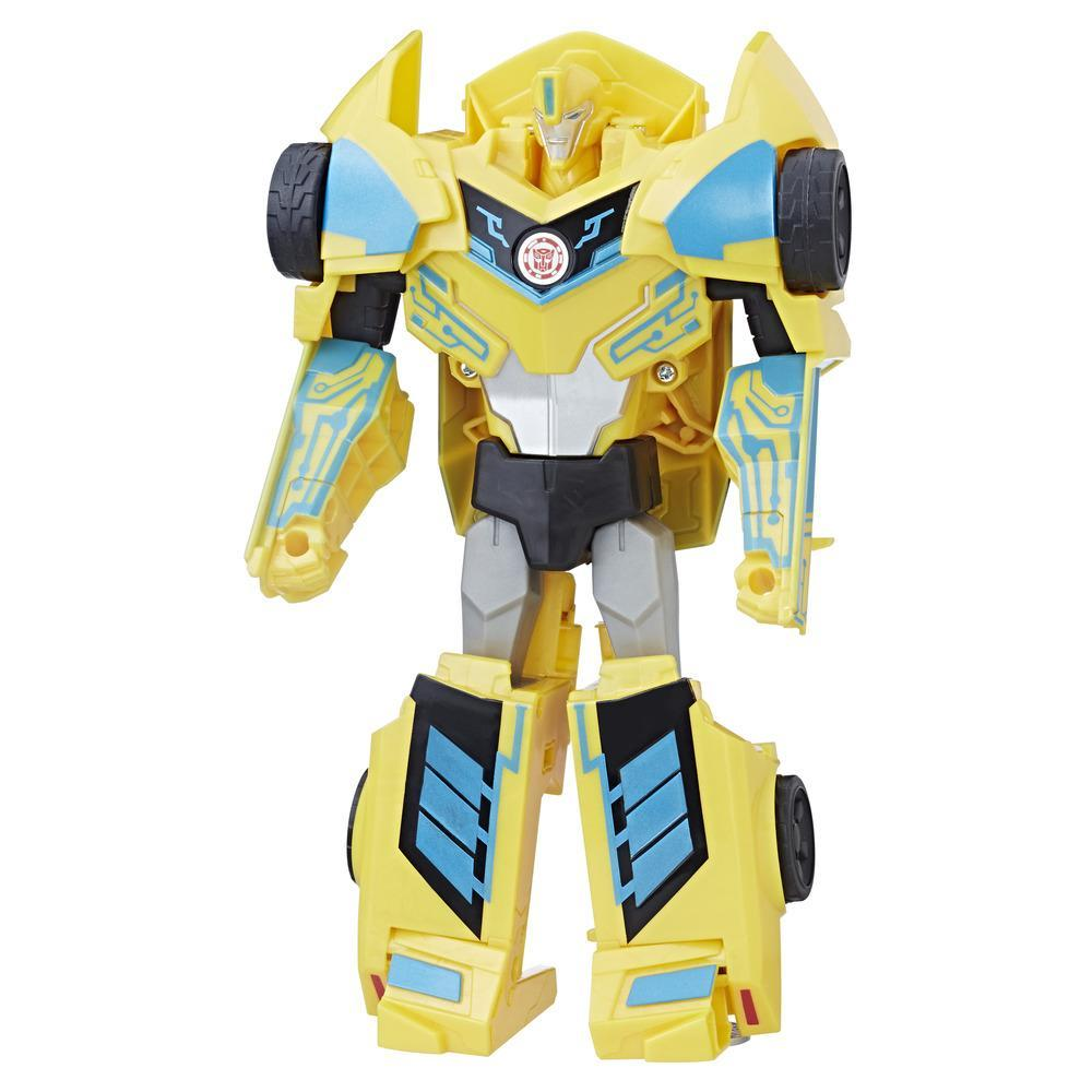 TRANSFORMERS ROBOTS IN DISGUISE 3 PASOS  BUMBLEBE
