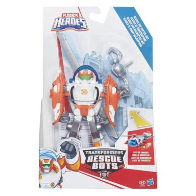 TRANSFORMERS RESCUE BOTS - FIGURA TRANSFORMABLE COPTORBOT