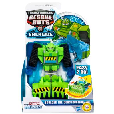 TRANSFORMERS RESCUE BOTS - FIGURA TRANSFORMABLE CONSTRUCTIONBOT
