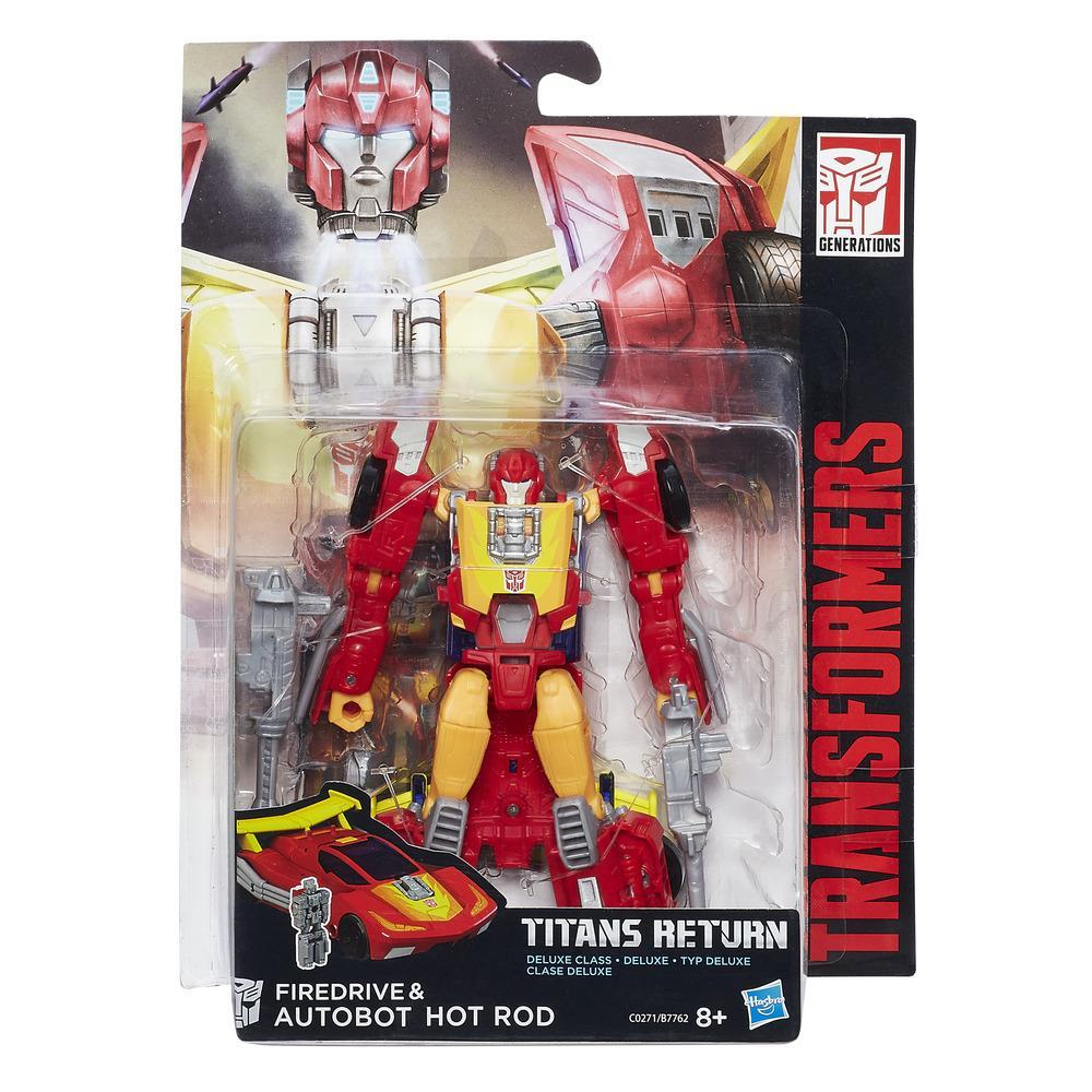 TRANSFORMERS GENERATIONS DELUXE HOT ROD