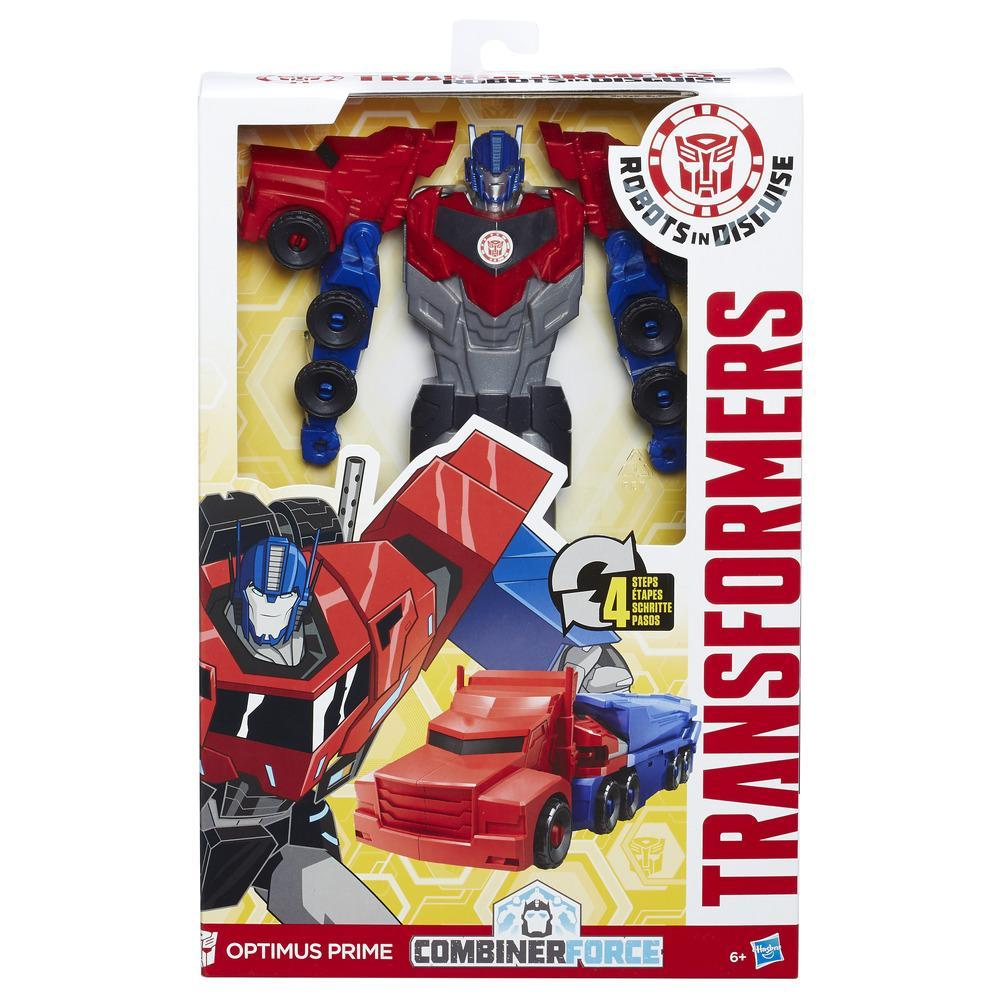 Transformers Robots in Disguise Titan Changers Optimus Prime Figure