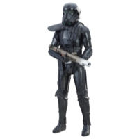 STAR WARS EPISODIO 8 FIGURA ELECTRONICA ROGUE ONE  DUEL IMPERIAL DEATH TROOPER