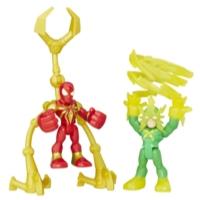 PLAYSKOOL HERO ADVENTURES PACK DE 2 IRON SPIDER Y ELECTRO