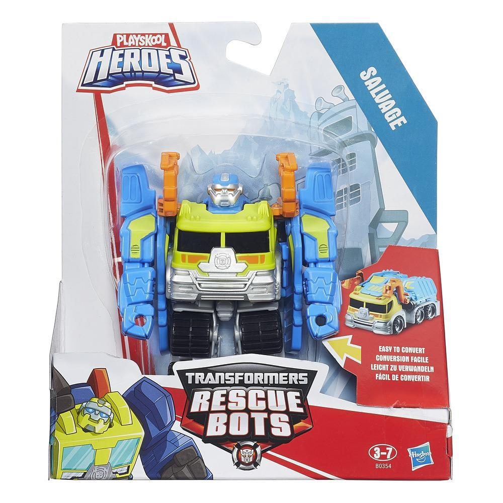 TRANSFORMERS RESCUE BOTS - FIGURAS RESCAN SALVAGE