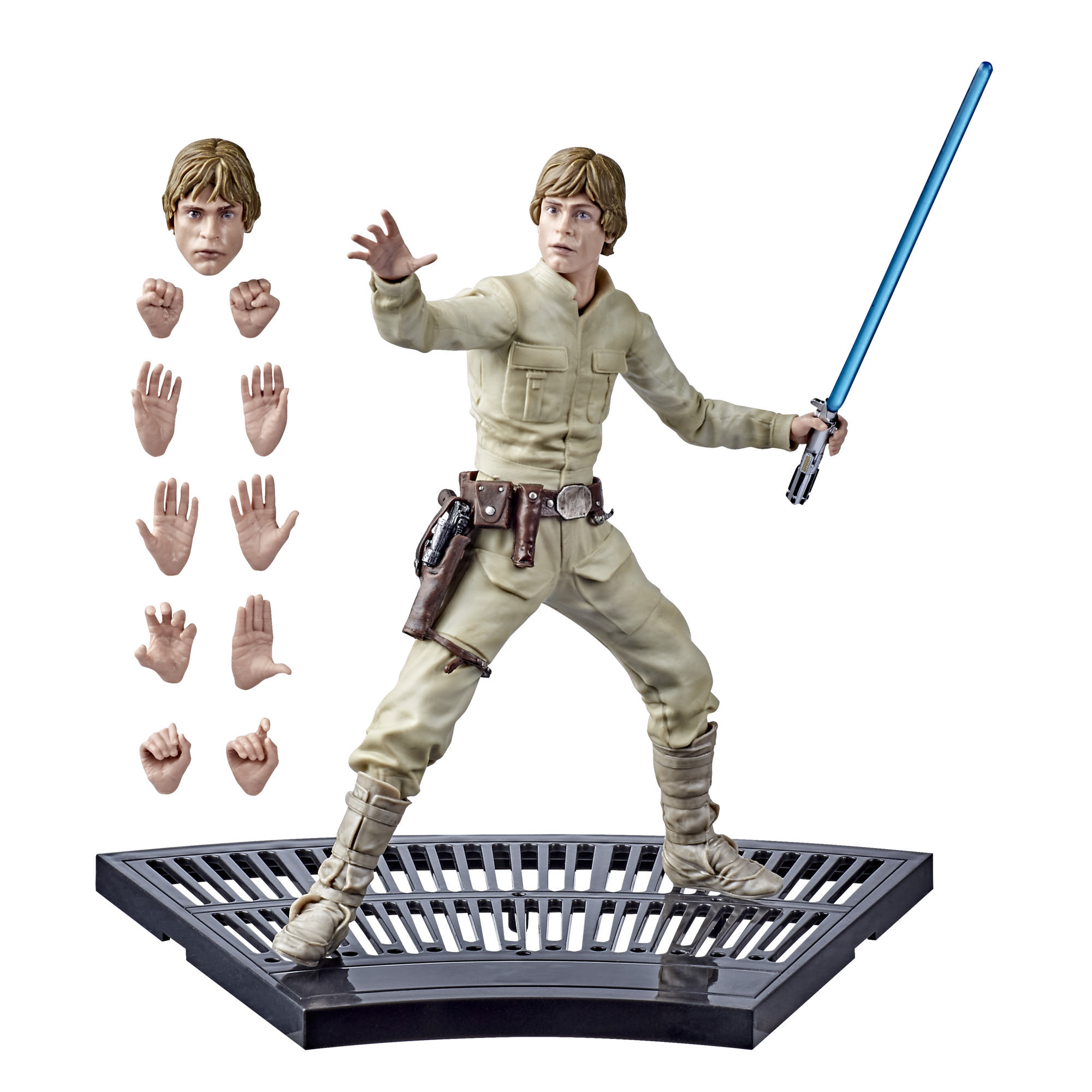 Juguete de Luke Skywalker de Star Wars The Black Series Hyperreal Star Wars: El Imperio contraataca, figura de acción de 20 cm