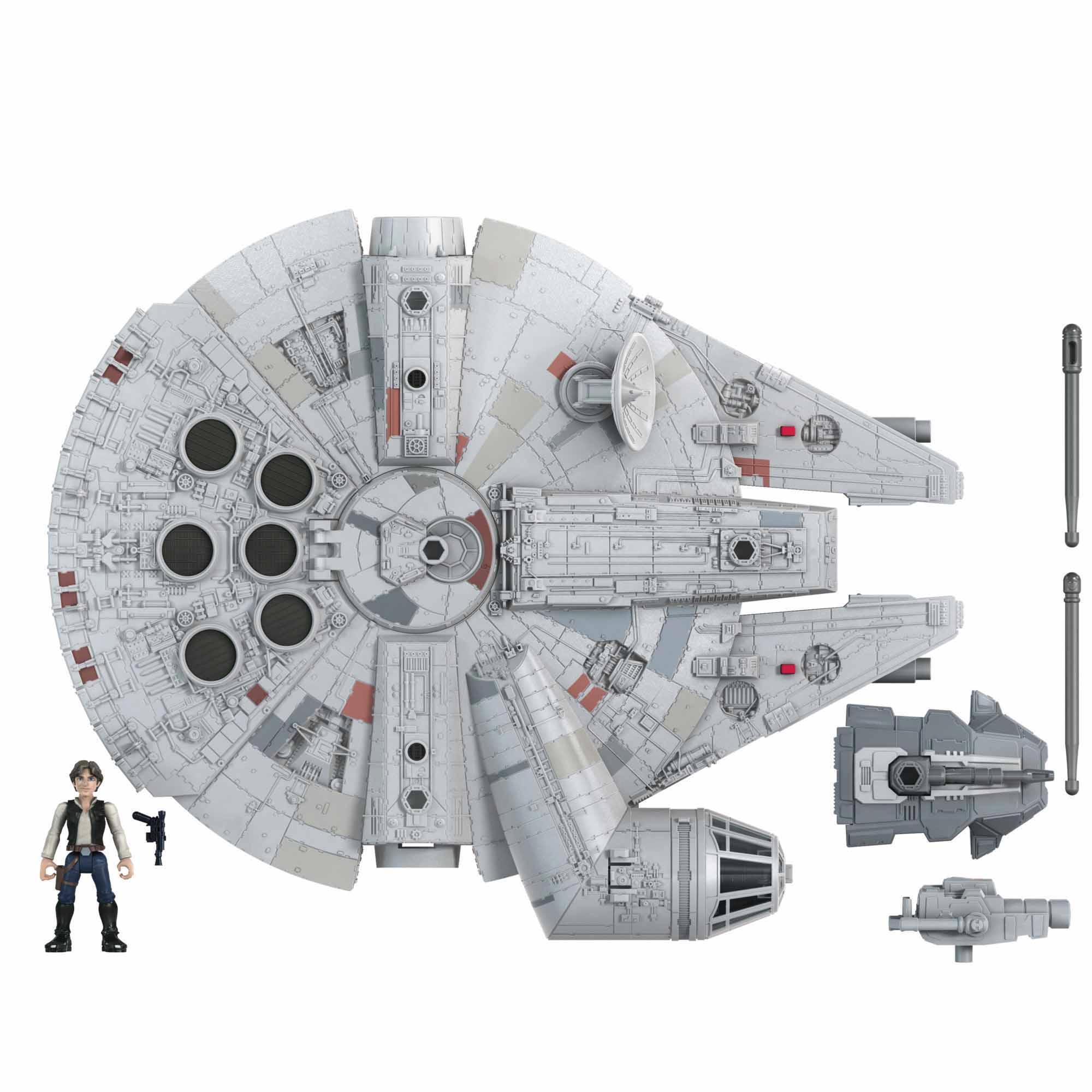 Halcón milenario de Han Solo de Star Wars Mission Fleet