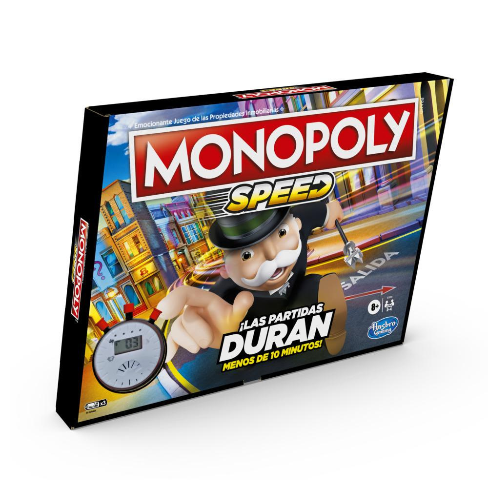 Juego de mesa Monopoly Speed para niños mayores de 8 años