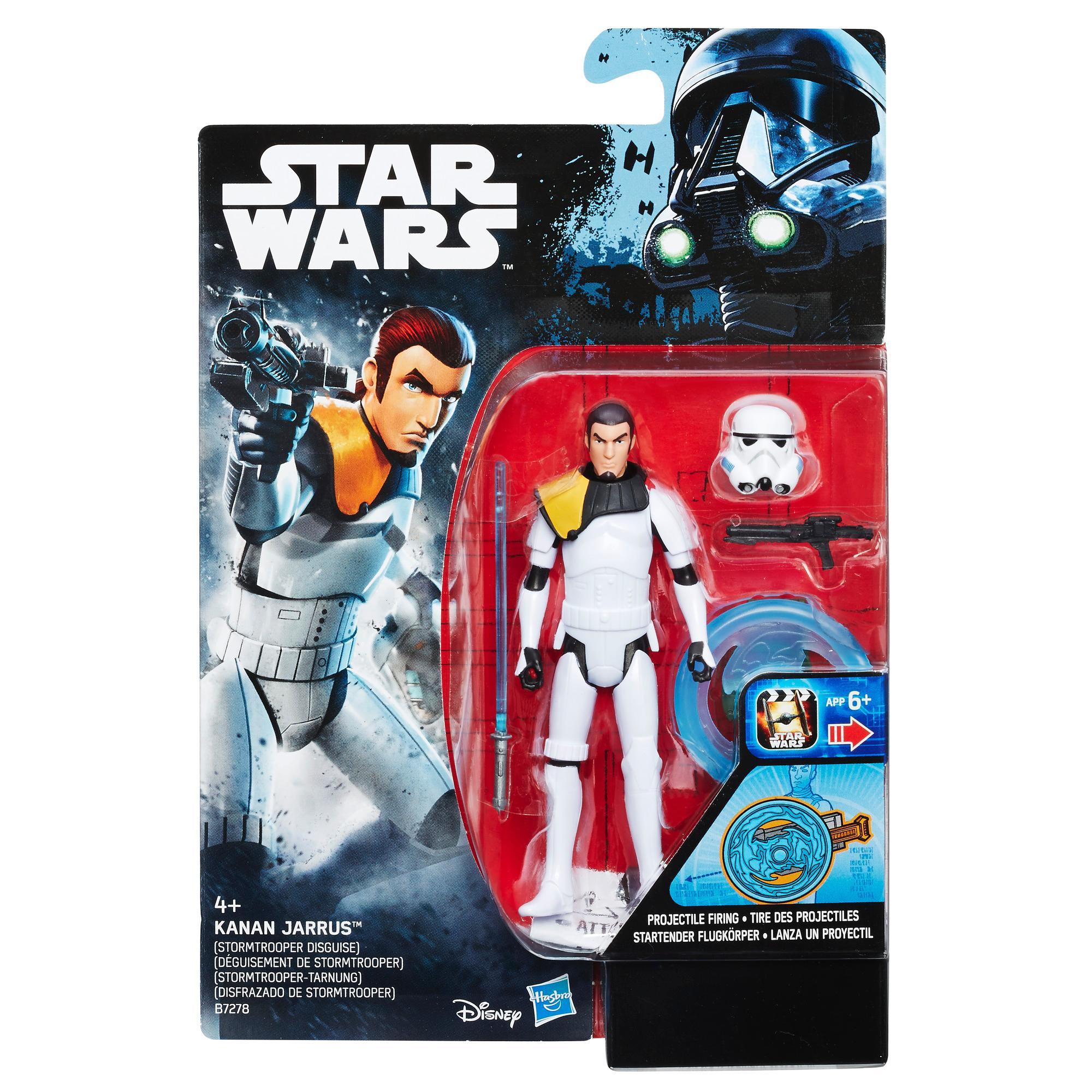 Star Wars Rebels Kanan Jarrus (Stormtrooper Disguise) Figure