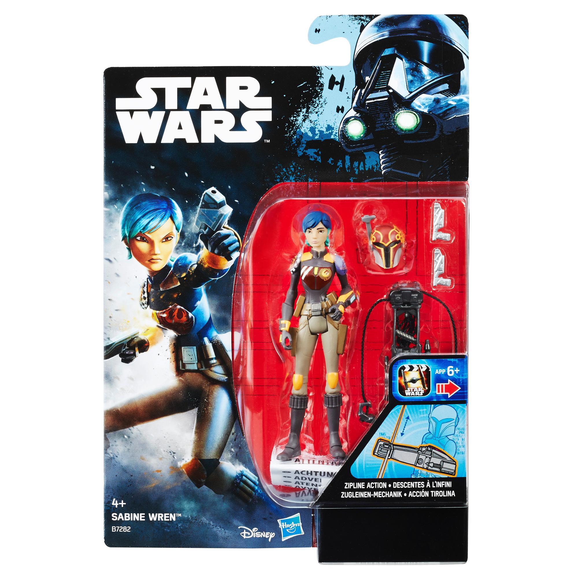 Star Wars Rebels Sabine Wren Figure