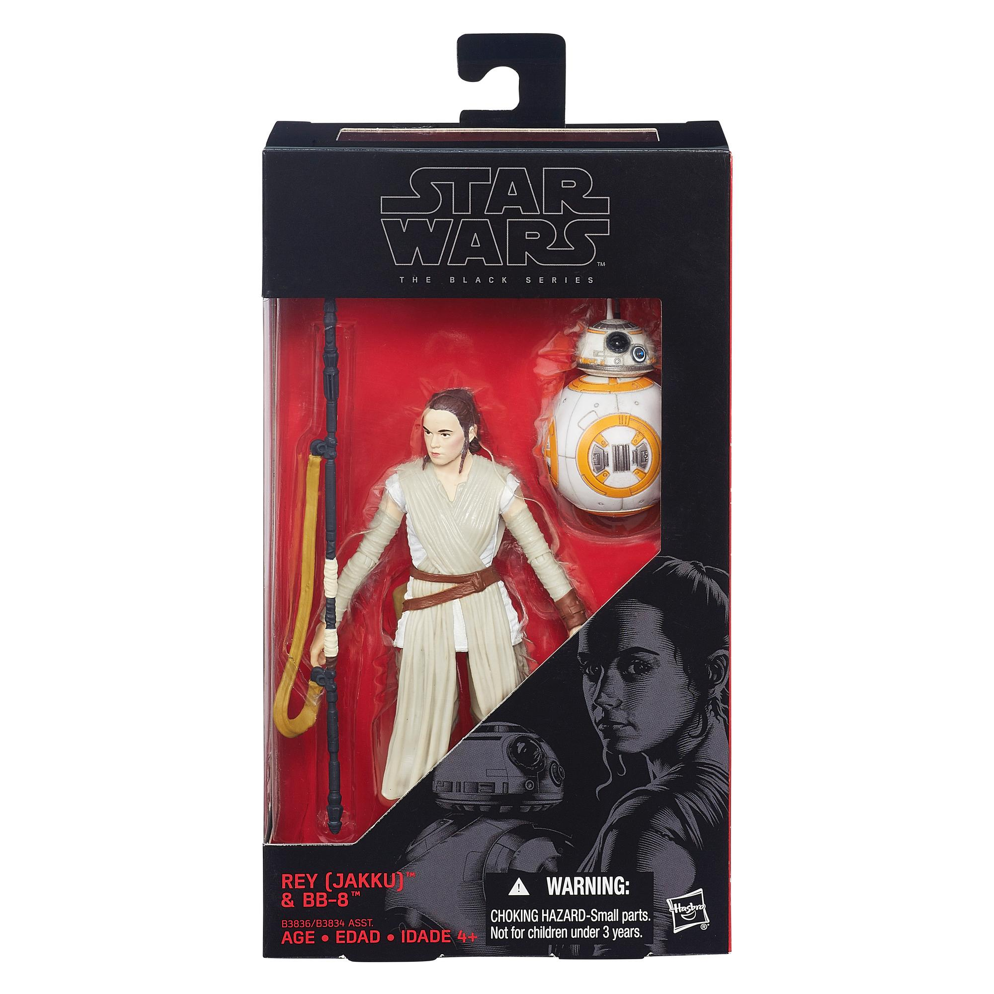 STAR WARS BLACK SERIES REY JAKKU Y BB-8  15 CM