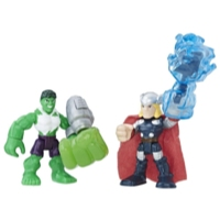 PLAYSKOOL HERO ADVENTURES PACK DE 2 HULK Y THOR