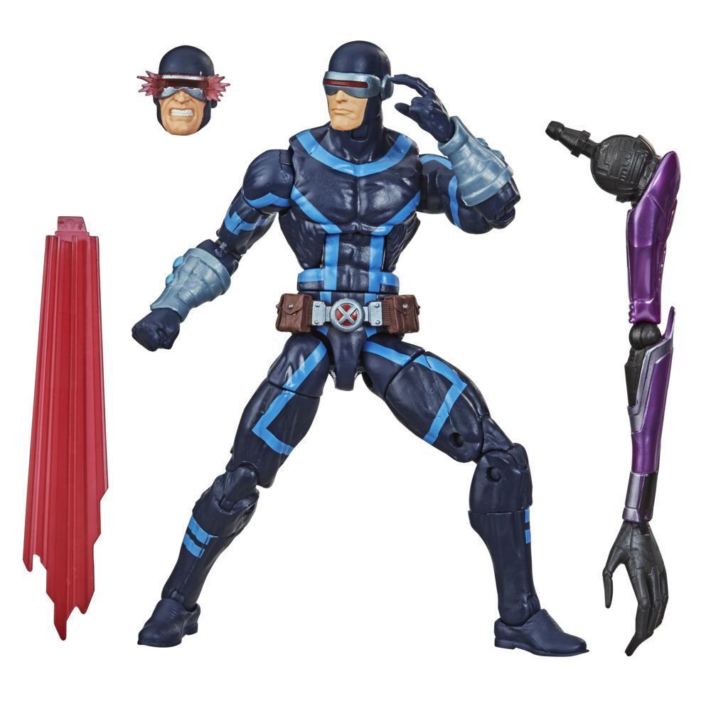Figura de acción de Cíclope de X-Men de Hasbro Marvel Legends Series