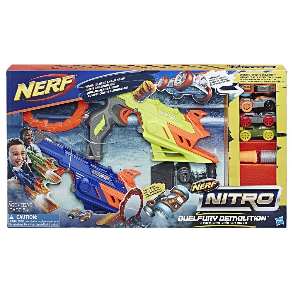 NERF NITRO DUELFURY DEMOLITION PACK DE 2