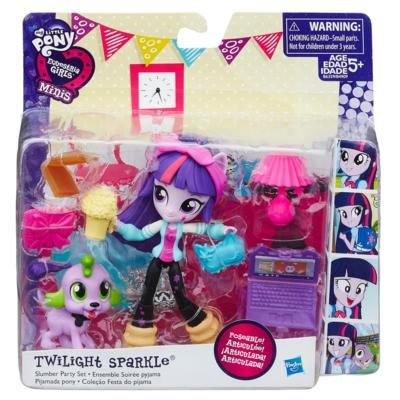 EQUESTRIA GIRLS MINIS  TWILIGHT SPARKLE CON ACCESORIOS